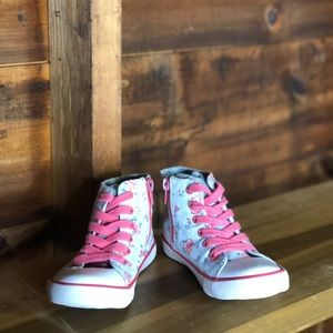 Cath Kidston Kids Floral High Top Trainers